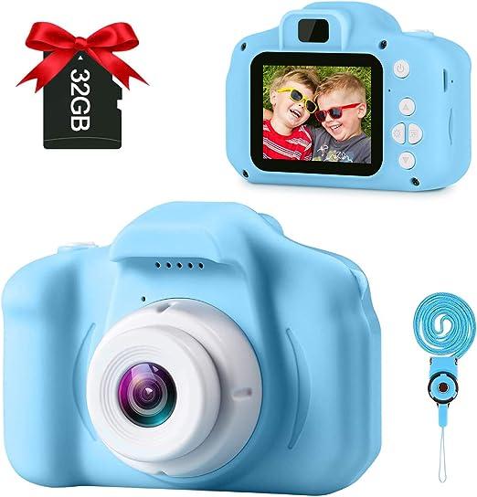 small handheld pink camera