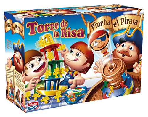 Falomir Pincha Pirata + Torre Risa. Juego de Mesa. Habilidades. (32-7777)