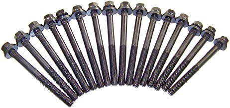DNJ HBK1136 Head Bolt Kit/For 1997-2011/ Chrysler, Dodge, Jeep, Plymouth, Volkswagen/ 3.3L, 3.8L/ V6/ 12V/ OHV/ 201cid, 230cid, 231cid/ CGUA