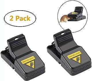 OPAS Trampa para Ratones/Trampa para Ratas plástica Detector para Ratones/Alta sensibilidad/Eliminación Segura e higiénica de Ratones