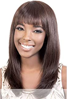 Motown Tress (Hir-annet) - Remy Indian Human Hair Full Wig in OFF BLACK