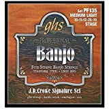 GHS PF 135 Banjo J.D. Crowe Light Stainless Steel 5-string Loop End