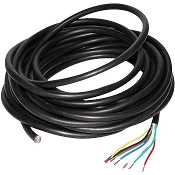 AUPROTEC 5 10 20 ou 50 m Isolant Electrique PVC Gaine Isolante Protection des C/âbles choix: /Ø int. 3 mm, 20m m/ètre