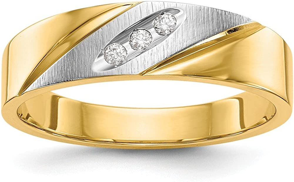 14k Yellow Gold Trio Engagement Band Ring Side Stone Wedding Set Fine Jewelry For Women Gifts For Her