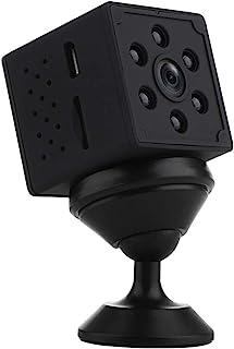 كاميرا لاسلكية صغيرة واي فاي، كاميرات المراقبة الصغيرة 1080 بيكسل اتش دي للأمن المنزلي،كاميرا محمولة ببطارية مدمجة مع رؤية...