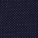 Fabulous Fabrics Jeans marineblau, Punkt, 130cm breit –