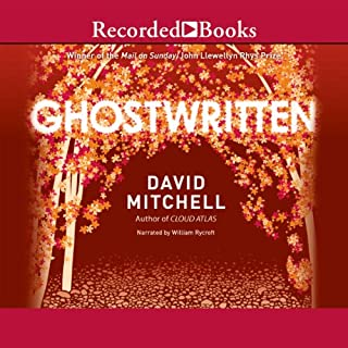 Ghostwritten audiobook cover art