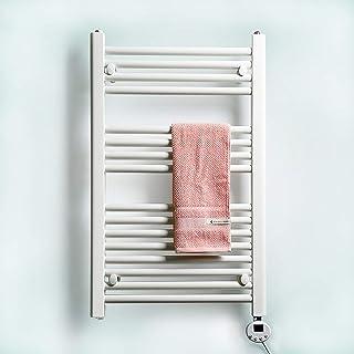 Y&MoD Toallas Calentador Radiador 800 X 500mm,Acero Bajo en Carbono Pared Eléctrico Secador de Toallas Multifuncional para Baño,Hotel,Temperatura Constante Inteligente