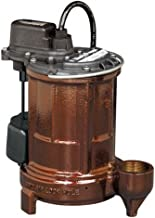 Liberty Pumps 257 1/3-Horse Power 1-1/2-Inch Discharge 250-Series Cast Iron Automatic..