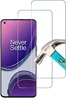AFGLOOY 2 Pack, Compatible with OnePlus 8T/ OnePlus 8T+ 5G Screen Protector, Tempered Glass for OnePlus 8T, 9H Scratch Res...
