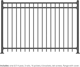 Best aluminum rail fencing Reviews
