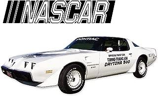 1981 Firebird Turbo Trans Am Nascar DAYTONA 500 Pace Car Door Decals Stripes Kit - MULTICOLOR