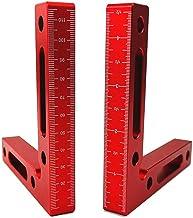 "90 Degree Positioning Squares Aluminium Alloy 4.7"" x 4.7""(12x12cm) Right Angle.."