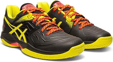 Amazon.com   ASICS Blast FF Women's Volleyball Shoes, Black/Sour ...