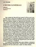 L'Oeuvre cathédrale. Proust et l'architecture médiévale