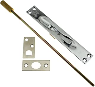 IDHBA 11020-026 Professional Grade Quality Solid Brass Extension Flush Bolt UL Standard 12