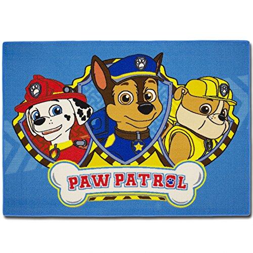 TW24 Kinderteppich mit Motivauswahl 133x95cm Spielteppich Teppich Kinderzimmer (Paw Patrol)