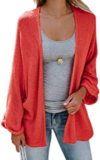 Mogogo Womens Fall Winter Solid Color Candy Color Casual Pullover Tops