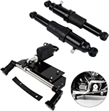 XMT-MOTO Electric Center Stand Kit and Rear Air Ride Suspension kit fits for Harley Davidson Touring 2009-2018
