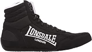 Lonsdale Mens Contender Boxing BootsFull Lace up Shoes