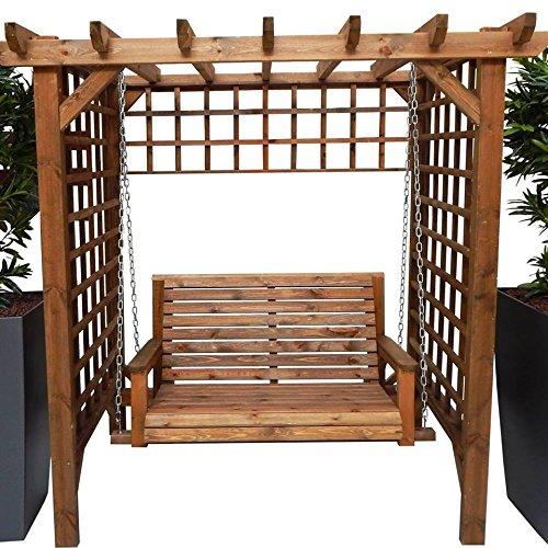 en bois meubles de jardin Tonnelle Balancelle de jardin Tonnelle Assise Pagode Treillis Assise Livraison gratuite et l'Assemblage