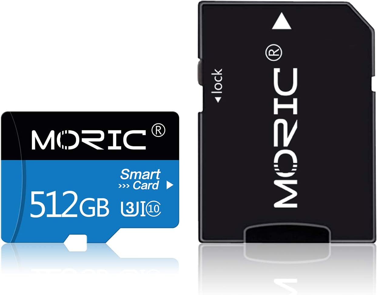 512GB Micro SD Card with SD Card Adapter High Speed Micro SD Memory Card/SD Memory Cards for Camera, Phone, Computer, Tachograph, Tablet, Drone(512GB)