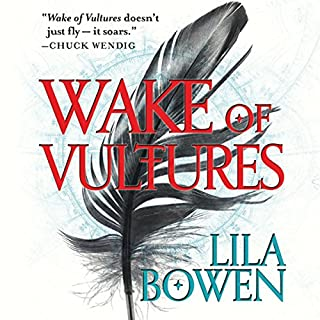 Wake of Vultures     The Shadow, Book 1              By:                                                                                                                                 Lila Bowen                               Narrated by:                                                                                                                                 Robin Miles                      Length: 10 hrs and 47 mins     6 ratings     Overall 4.5