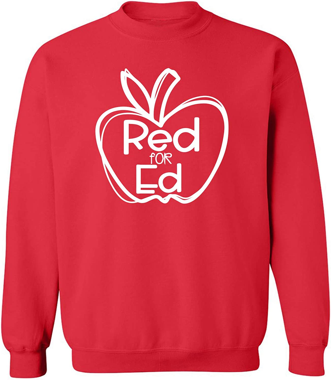 Red for Ed Crewneck Sweatshirt