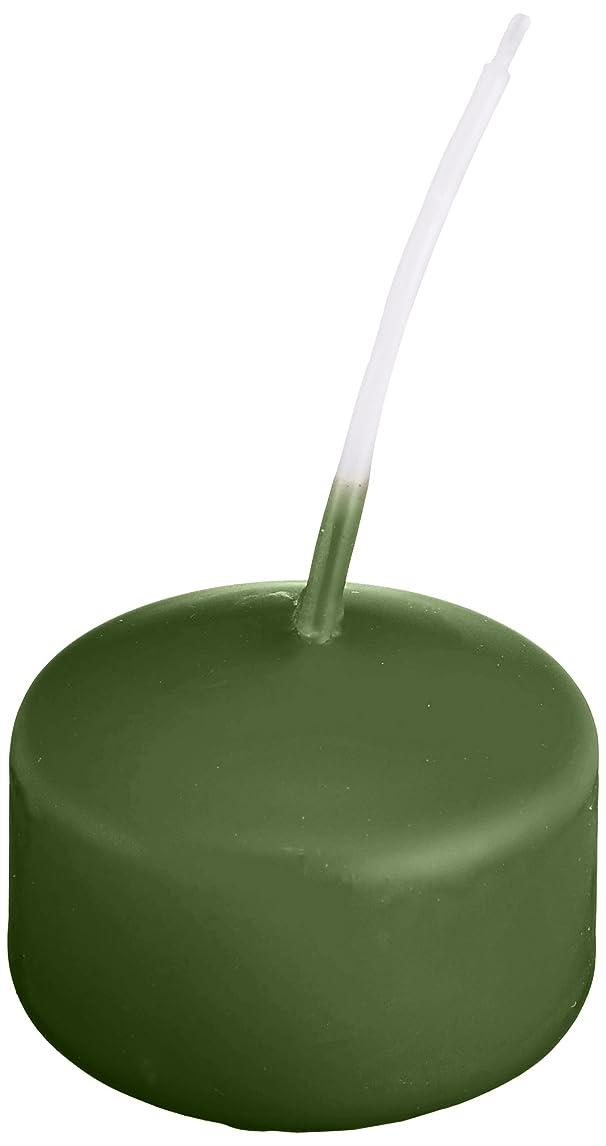 異邦人フルーツ野菜多用途キャンドル ハッピープール(カラーアトリエ) 「 グリーンティー 」 24個入り 72800000GT