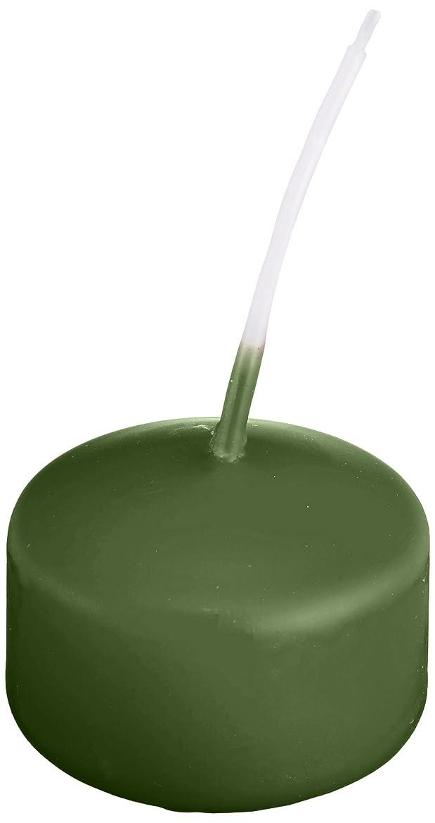 燃料追い払う悪用キャンドル ハッピープール(カラーアトリエ) 「 グリーンティー 」 24個入り 72800000GT