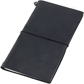 Traveler's Notebook Black Leather