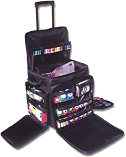CROP IN STYLE 60001 XXL Rolling Tote, Black