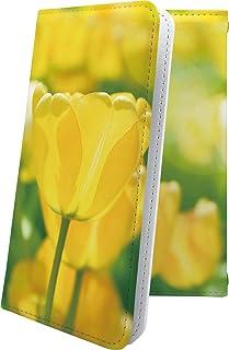 Galaxy A7 / A30 / SCV38 / A8 SCV32 マルチタイプ マルチ対応ケース ケース 手帳型 花柄 花 フラワー チューリップ ギャラクシー 女の子 女子 女性 レディース galaxya30 galaxya8 scv ...
