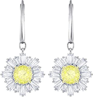 Sunshine Pierced Earrings, White 5479914