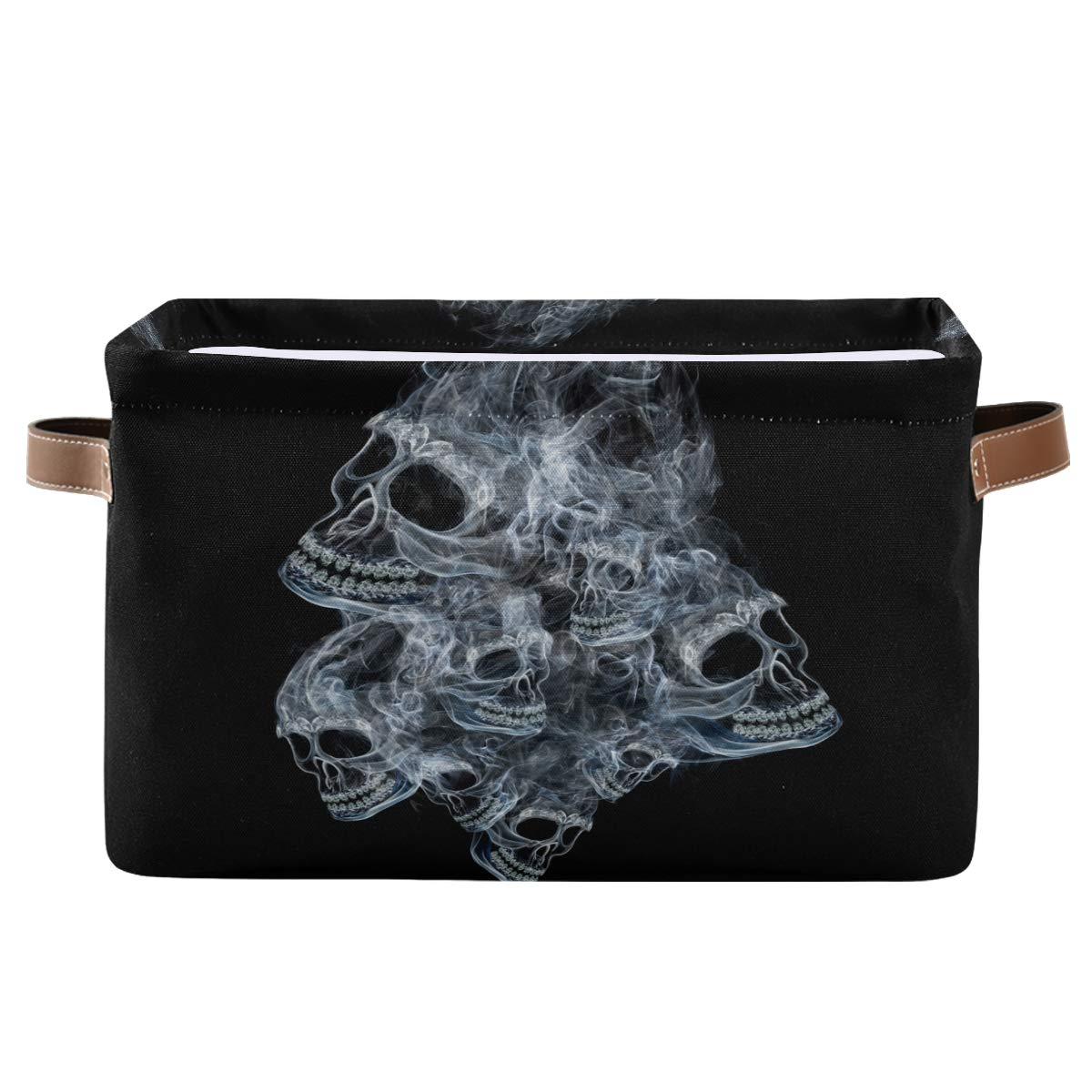 FORMEETY Day of The Dead Max 40% OFF Skull Skeleton ! Super beauty product restock quality top! Women C Storage Bin Kids