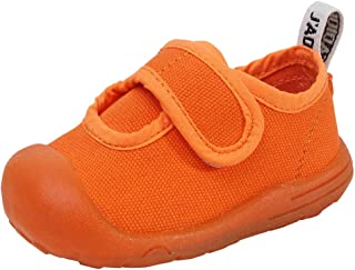 Baby Girls Boys Canvas Leisure Shoes Breathable Sneakers Premium Soft Rubber Sole Toddler Shoes