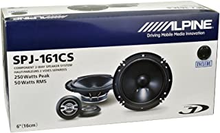 Alpine SPJ-161CS 2-WAY Car Audio Component Speaker System, 6