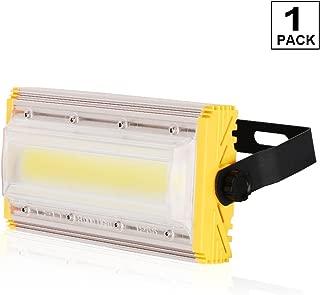50W LED Flood Lights, 4000 Lumens, 6500K Super Bright Outdoor Work Light, IP66 Waterproof Outdoor Floodlight for Garage, Garden, Lawn and Yard