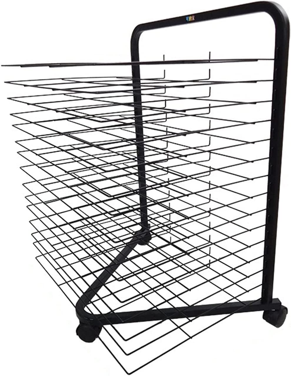 YSCMX Drying Rack 15-Shelf with Max Max 80% OFF 65% OFF Mobile D Classrooms