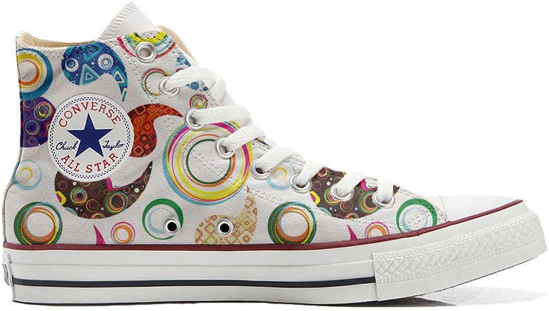 Converse All Star Cutomized - personalisierte Schuhe Schuhe Schuhe (Handwerk Produkt) Happy Paisley B06X949H9B  Zu einem niedrigeren Preis ff86eb