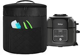 Luxja Cubierta de olla a Presión Compatible con Ninja Foodi de 5.7 Litros y 7.6 Litros (con Bolsillo con Cremallera para la Tapa), Cubierta Antipolvo para Olla a Presión Ninja