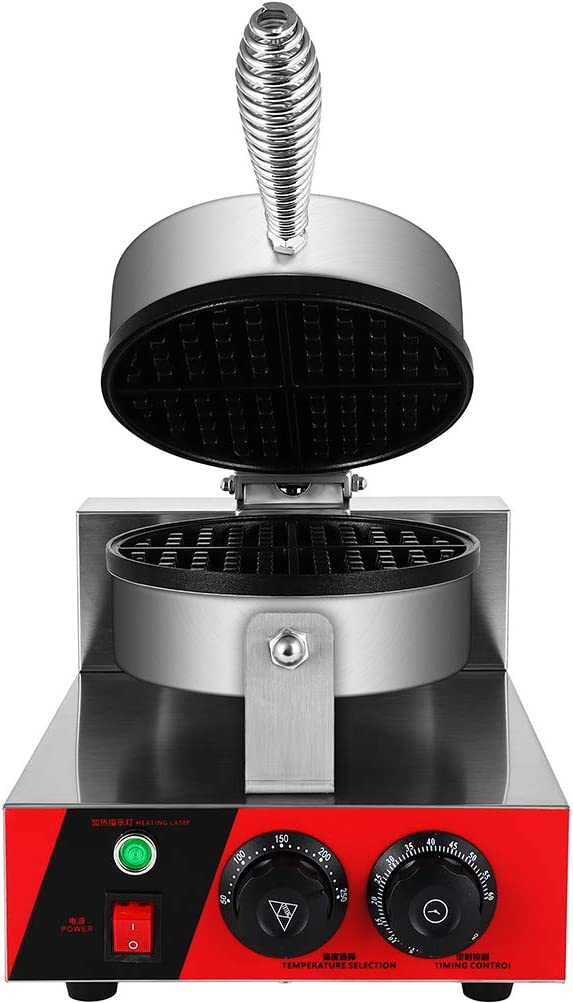 Olenyer Waffle latest Maker Machine Commercial Daily bargain sale Roll Stainl