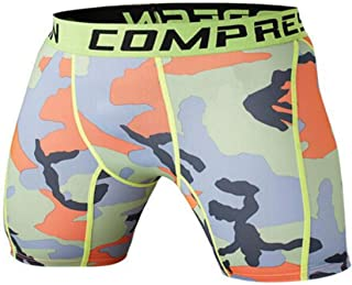 Mens Compression Shorts 2016 Summer Camouflage Bermuda Shorts Fitness Men Bodybuilding Tights Camo Shorts