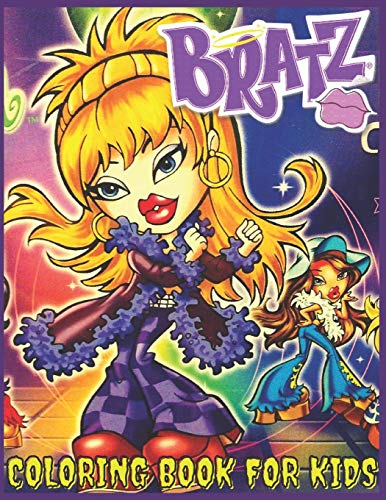 Bratz: Coloring book for children and adults fun, easy and comfortable