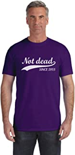 Tstars - Funny 60th Birthday Gift Not Dead Since 1955 Sarcastic T-Shirt
