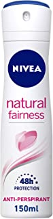 NIVEA Natural Fairness, Antiperspirant for Women, Spray 150ml