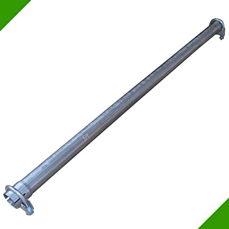 Universal Rohrbogen 30 Grad Ø 55 Mm Einseitig Aufgeweitet Auspuffrohr Abgasrohr Rohr Abgasanlage Pkw Lkw Auto