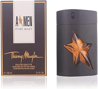 Angel Men Pure Malt by Thierry Mugler Eau De Toilette Spray (Limited Edition) for Men, 3.40 Ounce