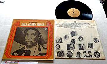 Bill Cosby Sings Silver Throat - Warner Brothers Records 1967 - Used Vinyl LP Record - 1967 Pressing WS 1709 - Hush Hush - Little Ole Man - Place In the Sun - Bright Lights, Big City