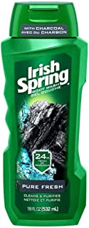 Colgate Colgate Pa Irish Spring Body Wash, Charcoal Fresh, 18 Ounce, Charcoal Fresh, 1 count